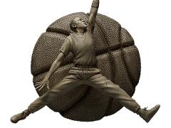 Michael Jordan (Ivory Edition) 1/6 Scale Sculpture