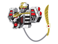 Mighty Morphin Power Rangers Icons Tigerzord Lapel Pin
