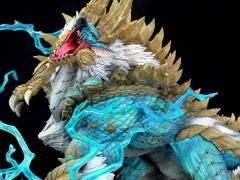 Monster Hunter Zinogre The Thunder Wolf Wyvern 1/10 Scale Statue