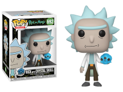 Pop! Animation: Rick and Morty - Rick with Crystal Skull