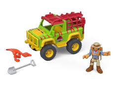 Jurassic World Imaginext Dr. Grant & 4X4 Set