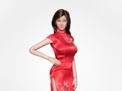 Cheongsam (Red) 1/6 Scale Accessory Set