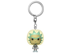 Pocket Pop! Keychain: Rick and Morty - Rick (Space Suit)