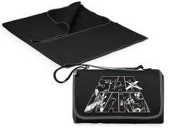 Star Wars Outdoor Picnic Blanket & Blanket Tote (Black)