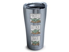 The Mandalorian The Child Protect Attack Snack Stainless Steel 20oz. Tumbler