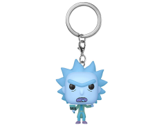 Pocket Pop! Keychain: Rick and Morty - Hologram Rick Clone