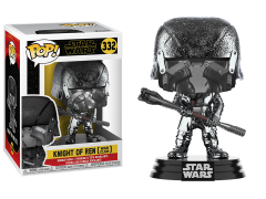 Pop! Star Wars: The Rise of Skywalker - Knight of Ren With Club (Hematite Chrome)