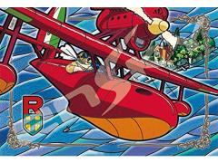 Porco Rosso 300-AC038 Over the Adriatic Sea Artcrystal 300-Piece Puzzle
