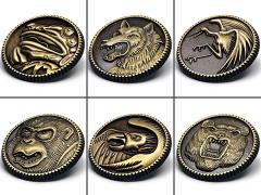 Mighty Morphin Power Rangers Ninjetti Power Coin Limited Edition Pin Set