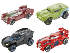 Marvel Hot Wheels Flip Fighters Set of 4 Cars