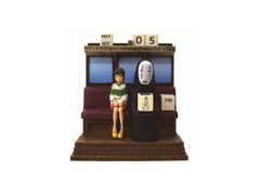 Spirited Away Riding the Railway Perpetual Calendar