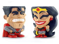 DC Comics Red Son Superman & Wonder Woman Teekeez Two-Pack