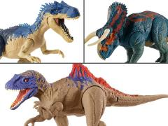 Jurassic World Dual Attack Dino Action Set of 3 Figures