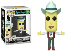 Pop! Animation: Rick and Morty - Auctioneer Mr. Poopybutthole