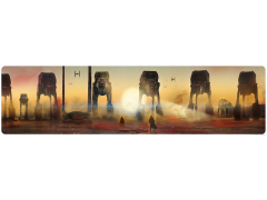 Star Wars Crait Showdown Limited Edition Lithograph