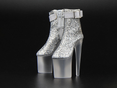Platform Shoes (Silver) 1/6 Scale Accessory Set