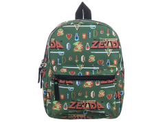The Legend of Zelda Pixel Print Mini Backpack