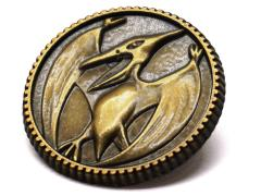 Mighty Morphin Power Rangers Pterodactyl Power Coin Limited Edition Pin