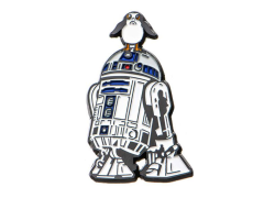 Star Wars: The Last Jedi R2-D2 and Porg Lapel Pin