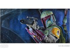 Star Wars Last One Standing Limited Edition Giclee