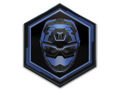 Power Rangers Beast Morphers Blue Ranger Enamel Pin