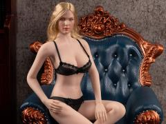Exquisite Underwear (Black) Camry Series Spring Large Bust 1/6 Scale Accessory Set (028-LD)