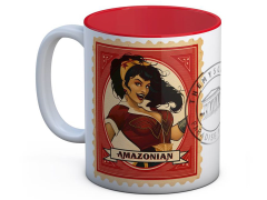 DC Comics Bombshells Wonder Woman (Postage Stamp) Mug