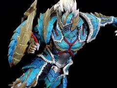 Monster Hunter Male Hunter (Zinogre Armor) 1/10 Scale Statue