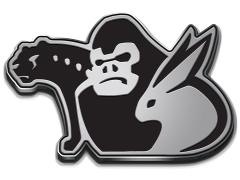 Power Rangers Beast Morphers Trio Emblem Enamel Pin