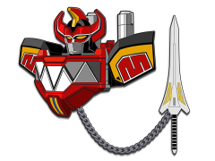 Mighty Morphin Power Rangers Icons Megazord Lapel Pin