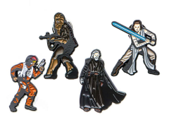 Star Wars: The Last Jedi Pin Set
