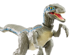 Jurassic World Savage Strike Dinosaur Action Velociraptor Blue figure