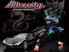 Transformers Alternity A-04B Mitsuoka Orochi Banzai-Tron (Crystalo Black) Exclusive