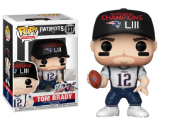 Pop! NFL: Patriots - Tom Brady (Super Bowl Champions LIII)