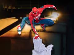 Spider-Man (2018 Video Game) Spider-Man 1/12 Scale Diorama Statue