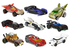 Star Wars Hot Wheels Character Cars Wave 3 Set of 9 Cars
