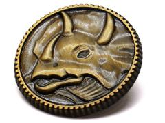 Mighty Morphin Power Rangers Triceratops Power Coin Limited Edition Pin