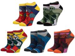 Mobile Suit Gundam Ankle Socks Five-Pack