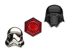 Star Wars: The Last Jedi 3-D First Order Pin Set