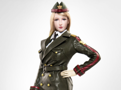 Female Army Uniform (Green) 1/6 Scale Accessory Set