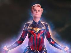 Avengers: Endgame Battle Diorama Series Captain Marvel 1/10 Art Scale Limited Edition Statue