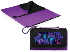 Star Wars Outdoor Picnic Blanket & Blanket Tote (Purple)