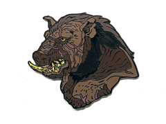 Hellboy Gruagach Limited Edition Enamel Pin