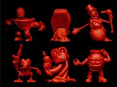 Run-A-Mucks (Red) Mini Figure Six-Pack