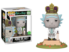 Pop! Deluxe: Rick and Morty - King of $#!+ with Sound