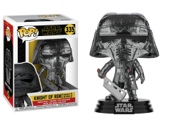 Pop! Star Wars: The Rise of Skywalker - Knight of Ren With Blade (Hematite Chrome)