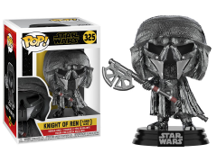 Pop! Star Wars: The Rise of Skywalker - Knight of Ren With Axe (Hematite Chrome)