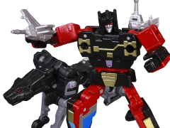 Transformers Masterpiece MP-15 Rumble & Jaguar (Ravage) Set (Reissue) with Collector Coin