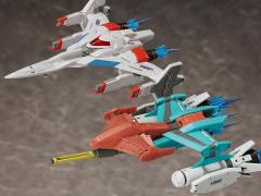 Galaxian figma No.SP-123 Galaxip GFX-D001a & Galaga Fighter GFX-D002f