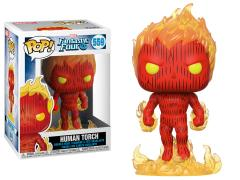 Pop! Marvel: Fantastic Four - Human Torch